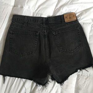 Vintage Shorts - Vintage Black Gap Denim Shorts💫